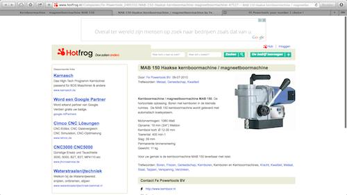 Kernboormachine magneetboormachine MAB-150-hotfrog