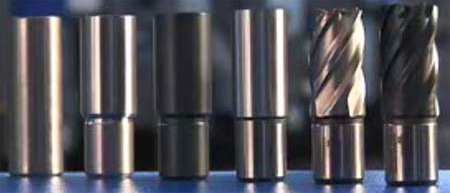 kernboor productieproces