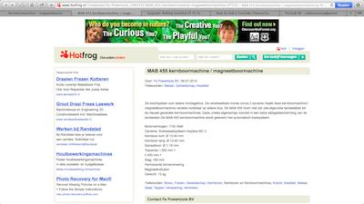Kernboormachine magneetboormachine FePowertools
