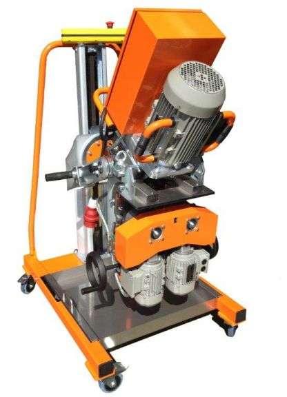 Volautomatische laskantenfreesmachine UZ 50
