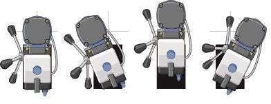 kernboormachine magneetboormachine MAB 525 swivelbase Fe Powertools