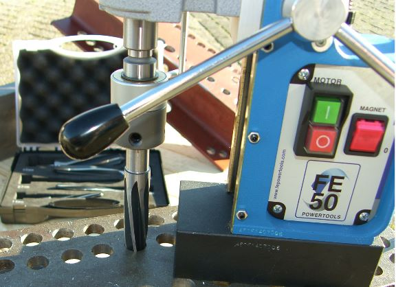 Fe Powertools ruimer in FE50