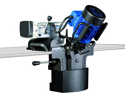 Automatische Laskantenfreesmachine AutoCUT 500